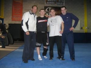 ME,  Lou,  Adam, Greg Nelson