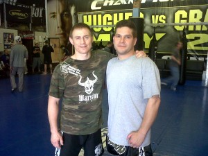 Me and Greg Nelson