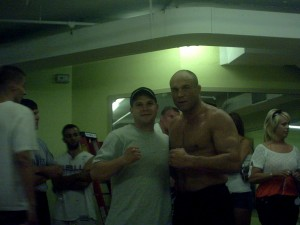 Me and Randy Couture