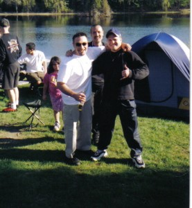 Me with Pete & Makoto