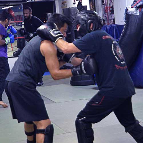 Mixed Martial Arts (MMA) class